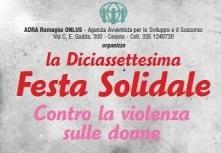 Festa Solidale 2016 A Cesena, Quest'anno ADRA Italia Si Tinge Di Rosa