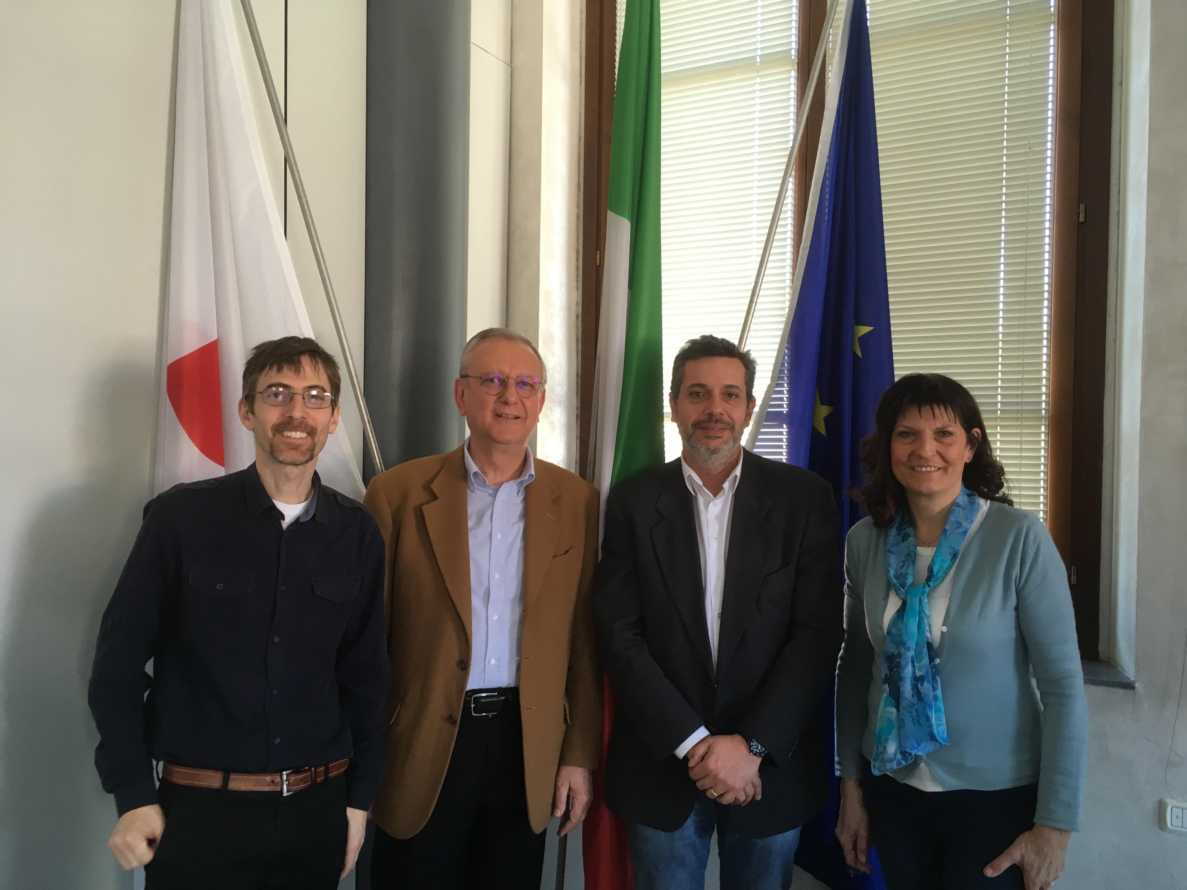 Firmata La Convenzione Tra Il Quartiere 5 Del Comune Di Firenze E ADRA Italia