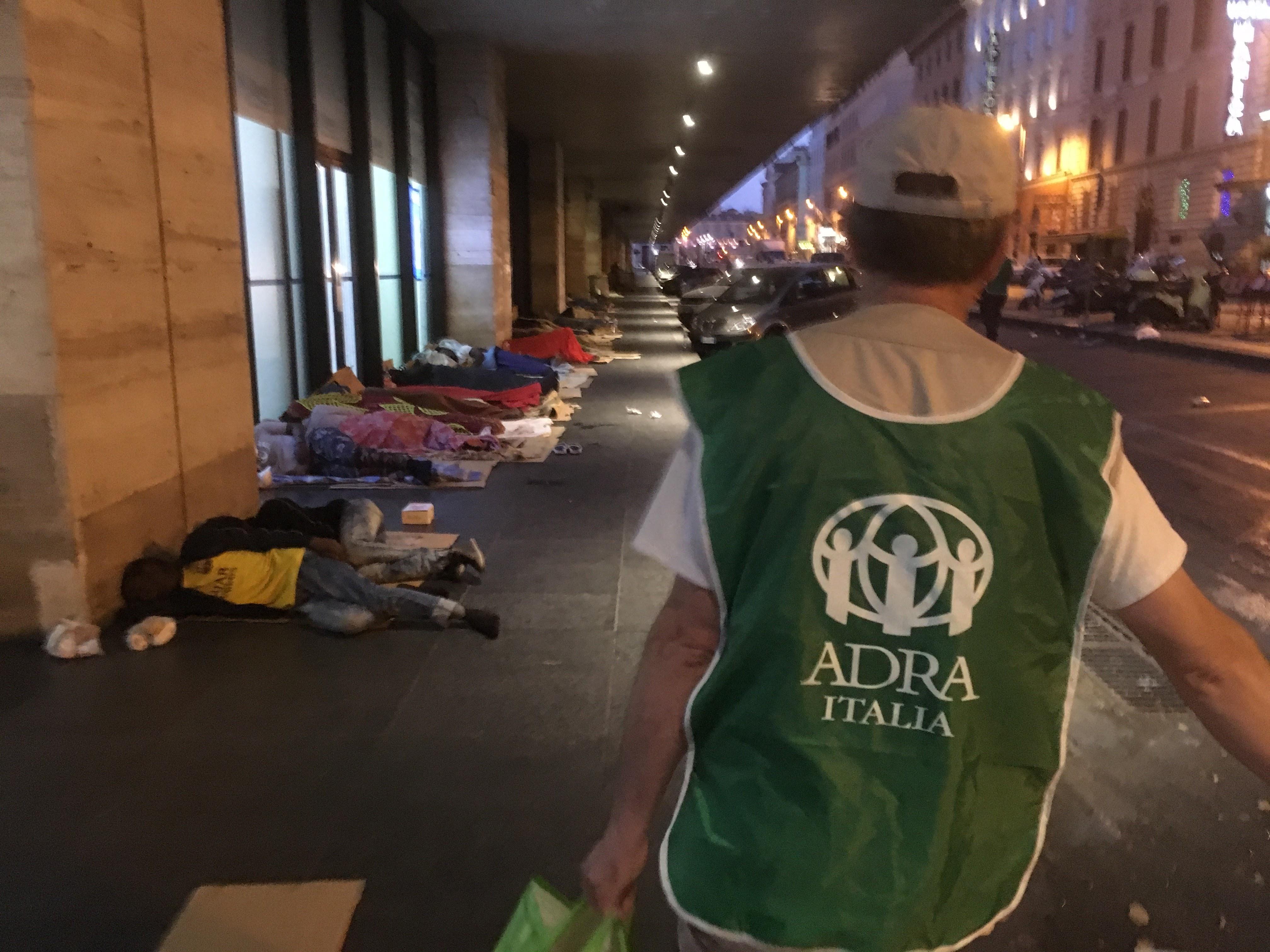 Volontari Al Risveglio Della Città