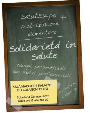 Solidarietà In Salute – Prima Tappa Jesi