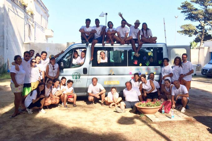 """Campo Di Servizio E Volontariato """"Voglia D'amare, Lecce 2015"""""""