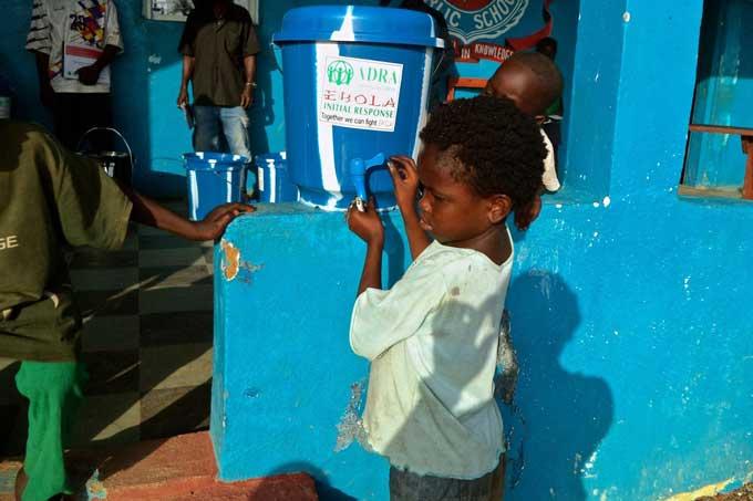 Progetto Emergenza Ebola In Africa Occidentale