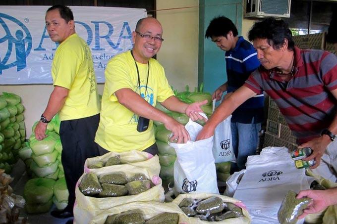 Progetto Emergenza Tifone Nelle Filippine