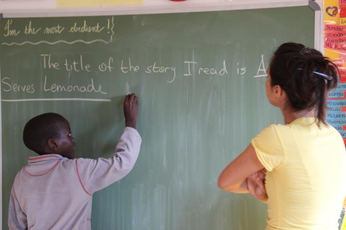 Una Scuola Una Famiglia Namibia